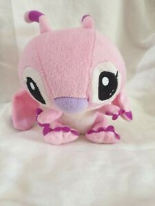 Angel Lilo And STITCH Plush Toy Sitting Pink Experiment