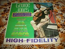 New listing Lp 1964 George Jones His Prince Of Country Rare Record Club Edition Dt-90611 Vg+