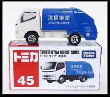 TOMICA 45 TOYOTA DYNA REFUSE TRUCK TOMY DIECAST CAR