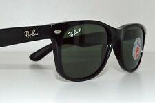 Ray Ban sunglasses NEW WAYFARER RB2132 901 black with G-15 Polarised lenses 55mm