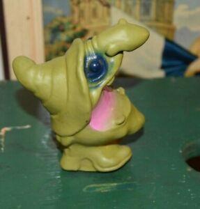 Vintage 1971 Mattel WITCH Troll Wax-Filled Figure HALLOWEEN RARE Good Condition