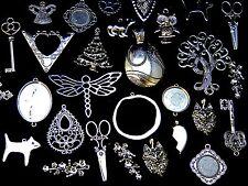 150 g Grand Aléatoire Mélange-Tibetan Silver Charms Beads Findings Jewellery Mix G156