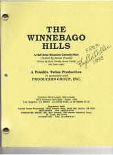 PHYLLIS DILLER THE WINNEBAGO HILLS PILOT SCRIPT FOR TV W/ GENUINE SIGNATURE1993