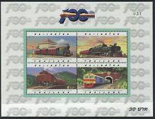 THAILAND - 1997 'CENTENARY OF THAI STATE RAILWAY' Miniature Sheet MNH [C1986]