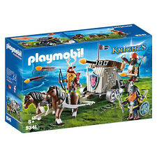 Playmobil Knights Horse-Drawn Ballista Building Set 9341 NEW IN STOCK