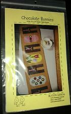 "Chocolate bunnies Easter Table Runner Quilt #148 Pattern uncut 13""x47"" finished"
