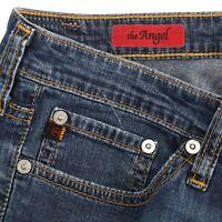 AG Adriano Goldschmied The Angel Soft Denim Dark Wash Boot Cut Jeans Womens 28