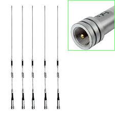 5pcs High Gain Mobile Ham Car Radio Antenna UHF/VHF Dual Band 100W SL16/UHF-J/M