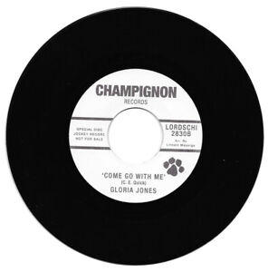 Gloria Jones Come Go With Me / Tainted Love  Rerecorded Version Northern Soul