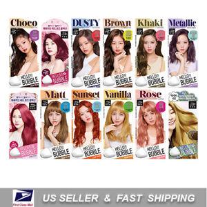 MISE EN SCENE Hello Bubble Foam Color Easy Self Hair Dye Blackpink MiseEnScene