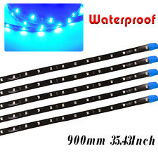 Flexible LED Strip Underbody Light Waterproof Car Motor Boat Blike Decor 12V US