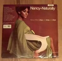 Nancy Wilson ‎– Nancy - Naturally  Vinyl LP Album 33rpm 1967 Capitol ‎– T2634