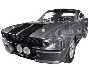 """1967 FORD MUSTANG CUSTOM ELEANOR """"GONE IN 60 SECONDS"""" 1/18 CAR GREENLIGHT 12909"""