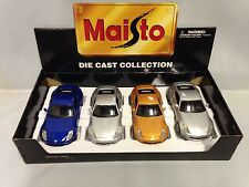 4 Pcs/ Set Nissan 350Z, Collectibles, Diecast 1:24 Scale, Maisto Toy,Display Box