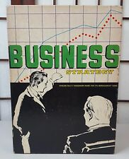 HTF 1973 Avalon Hills Business Strategy Bookcase Board Game  4 in 1 Game