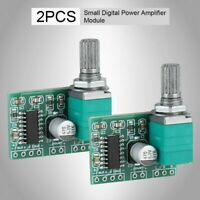 2PCS 3W*2 Mini 5V Digital Power Amplifier Board PAM8403 Audio Amplifier Module