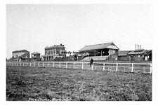 pt1722 - Pontefract Racecourse , Yorkshire - photograph 6x4