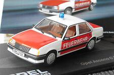OPEL ASCONA C FEUERWEHR 1982 1988 IXO ALTAYA 1/43 FIRE ENGINE POMPIER BOMBEIRO