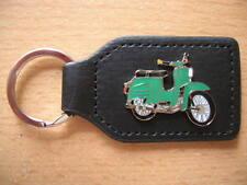 Schlüsselanhänger Simson Schwalbe grün green Moped Art. 1029 Motorbike Moto