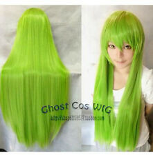 Abe Temin/Rebellious Lulu Repair Long Mixed Green Cosplay synthetic Wigs
