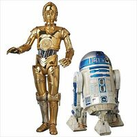 Medicom Toy MAFEX Star Wars The Force Awakens C-3PO & R2-D2 Action Figure