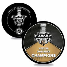 VEGAS GOLDEN KNIGHTS 2018 Western Conference Champions SOUVENIR HOCKEY PUCK