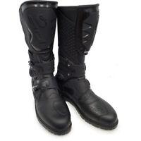 Sidi Adventure Rain Waterproof Motorcycle Boots Black Size 11 US / 45 EU