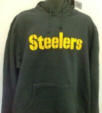 Pittsburgh Steelers Hooded Sweatshirt NFL Team Apparel Large Free Shipping