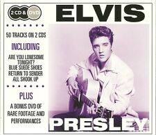 ELVIS PRESLEY 2 CD'S & DVD INCLUDING RETURN TO SENDER, ALL SHOOK UP & MORE