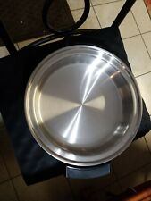 TOWNECRAFT 17450 11 in LIQUID CORE STAINLESS ELECTRIC SKILLET W/DOME LID Poacher
