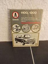 AUTOBOOKS OWNERS WORKSHOP MANUAL FOR AUSTIN/MORRIS 1100 & 1300 1968 - 1974