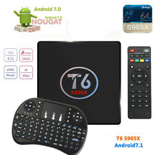 T6 Android 7.1 TV box 1G/8G Amlogic S905X tv box 4K HDMI + Tastatur