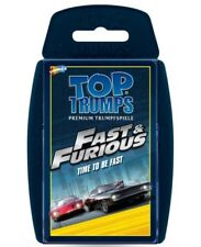 Top Trumps - FAST & FURIOUS : TIME TO BE FAST - Winning Moves 62998 - NEU