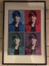 2010 Retro Complete 4 COLOR Justin Bieber Poster Puzzle Framed & Matted 24x36