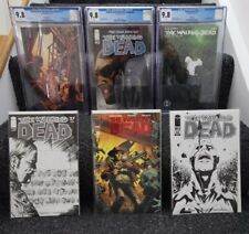 The Walking Dead - Deluxe Red Foil Variant and CGC 9.8 Lot x6 books