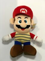 "Super Mario Bros Mario Banpresto 2007 Nintendo 15"" Plush Doll Japan Tag Rare"