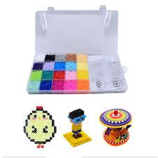Mini 11000Pcs Fuse Perler Hama Beads Ironing Set Refill Pack Pegboard Stater NEW