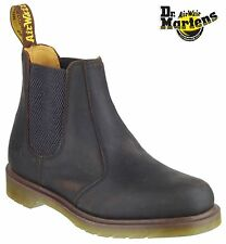 Dr Martens Airwair DM 8250 brown gaucho leather Chelsea dealer boot size 5-13 UK
