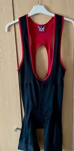 Planet X Bib Shorts Black and Red Size L Used - Great Condition