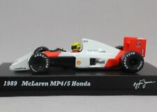 8769 Kyosho 1/64 McLaren F1 MP4/5 HONDA Ayrton Senna Mint No-Box Tracking Number