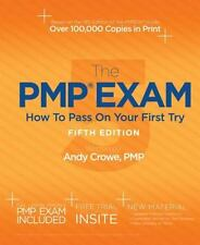 The PMP Exam: How to Pass on Your First Try, Crowe PMP  PgMP, Andy, Good Book