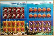 Complete Sheetlet Marine Creatures joint issue with Thailand 2015