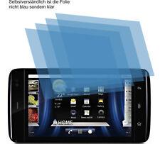 4x Dell Streak 5 Schutzfolie Displayschutzfolie AR Displayfolie