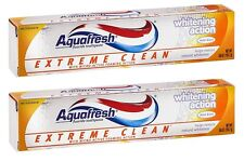 2 Pack - Aquafresh, Extreme Clean Toothpaste Whitening Action - 5.6oz Each