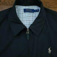 Polo Ralph Lauren Golf Harrington Bomber Jacket Windbreaker Mens L Designer