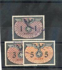 GENERAL GOV'T(OCC OF POLAND) Sc NO13-15(MI D13-5)VF USED 1949 TOP VALUES $25