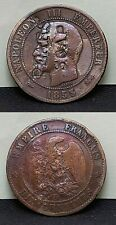 More details for lovely very rare french 1853 napoleon lll empereur pears soap token coin su1282