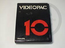 !!! PHILIPS G7000 SPIEL Videopac 10 Golf OVP, gebraucht aber GUT !!!