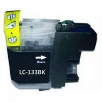 10x Generic LC133 LC-133 black ink cartridges for Brother J4510 J4710 J6720 J870