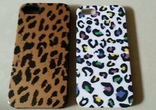 Two cheetah iphone 5 covers